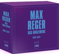 Reger, Max - The Organ Works (14 Cd)