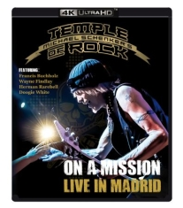 Schenker Michael & Temple Of Rock - Live In Madrid (Ultra Hd Bluray)