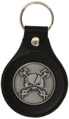 Iron Maiden - Keyring Leather