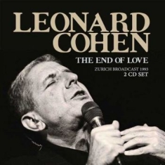 Cohen Leonard - End Of Love The - Live Zurich 1993
