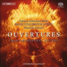 Bach - Ouvertures - 4 Orchestral Suites (Suzuki) [sacd/cd Hybrid]