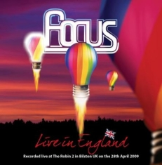 Focus - Live In England (2Cd+Dvd)