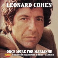 Cohen Leonard - Once More For Marianne (2 Cd) (Live