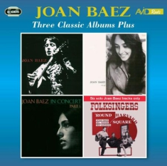 Baez Joan - Three Classic Albums Plus