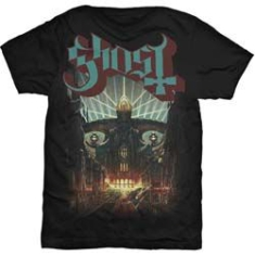 Ghost - Ghost Meliora Mens Blk T Shirt : X Large