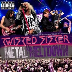 Twisted Sister - Metal Meltdown (Bluray/Dvd/Cd)