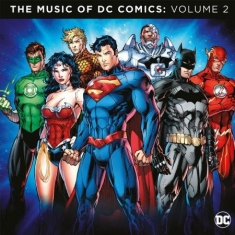 V/A - The music of DC Comics Vol 2 (Blue Vinyl)