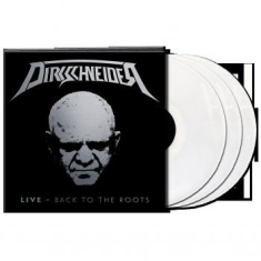 Dirkschneider - Live - Back To The Roots (White 3-V