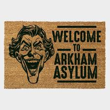 Door Mat - Batman Joker Door Mat (Arkham)