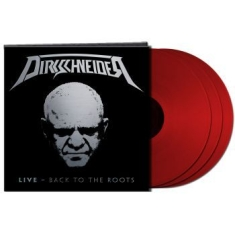 Dirkschneider - Live - Back To The Roots 3 Lp Red V