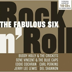Blandade Artister - Fabulous Six - Rock'n'roll