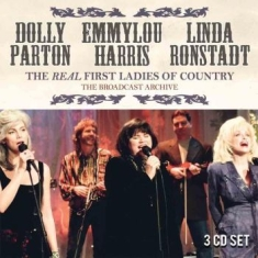 Parton Dolly, Harris Emmylou, Ronst - Broadcast Archive - 3 Cd Box (+ Int