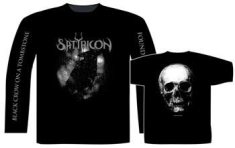 Satyricon - T/S Black Crow And A Tombstone (M) OBS! Kort ärm