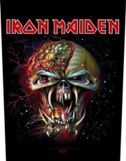 Iron Maiden - Back Patch Final Frontier Face