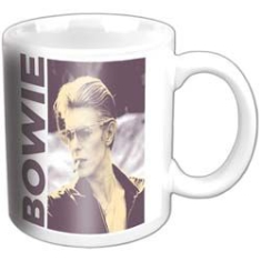 David Bowie - David Bowie premium boxed mug : Smoking