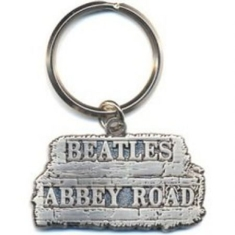 Beatles - Abbey Road Sign key chain