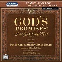 Boone Pat & Shirley Foley Boone - God's Promises For Your Every Need