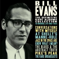 Evans Bill - Definitive Rare Collection The 4 Cd