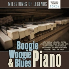 Blandade Artister - Boogie Woogie & Blues Piano