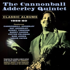 Adderley cannonball - Classic Albums 1959-60