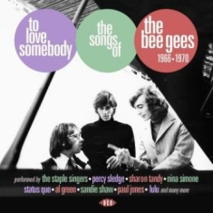 Blandade Artister - To Love SomebodySongs Of Bee Gees