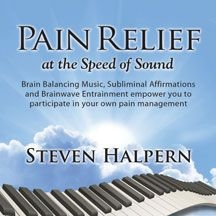 Halpern Steven - Pain Relief At The Speed Of Sound