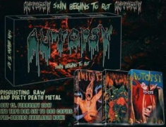 Autopsy - Skins Begins To Rot (Tape Box)