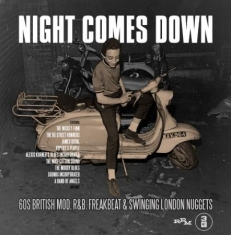 Blandade Artister - Night Comes Down: 60 British Mod R&