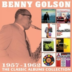 Benny Golson - Classic Albums Collection The (4 Cd