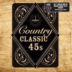 Various artists - Country Classic 45's