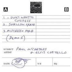 Paul McCartney - Flowers In The Dirt - Cassette Demos
