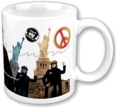 John Lennon - Statue Of Liberty Boxed Mug