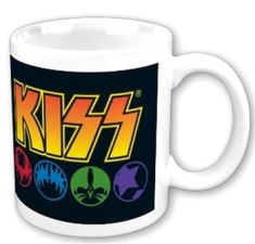 Kiss - Masks Boxed Mug