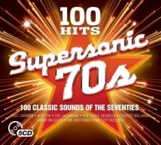 Blandade Artister - Supersonic 70S - 100 Hits