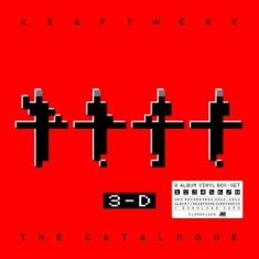 Kraftwerk - 3-D The Catalogue(9X 180G Viny