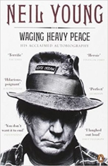 WAGING HEAVY PEACE. HIS ACCLAIMED AUTOBIOGRAPHY