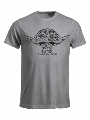 Bengans Elephant - T-Shirt Grey