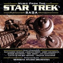 Blandade Artister - Music From The Star Trek Saga Vol 1