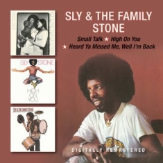 Sly & The Family Stone - Small Talk/High On You/Heard Ya Mis