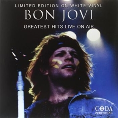 Bon Jovi - Greatest Hits Live On Air (White)