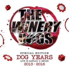The Winery Dogs - Dog Years Live In Santiago & B