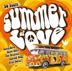 Blandade Artister - 50 Years Summer Of Love