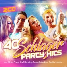 Blandade Artister - 40 Schlager Party