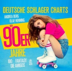 Blandade Artister - German Schlager Charts In The 90S