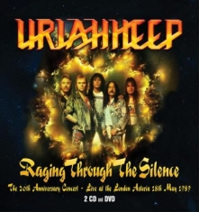 Uriah Heep - Raging Through The Silence (2Cd+Dvd