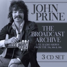 John Prine - Broadcast Archive The (3 Cd)