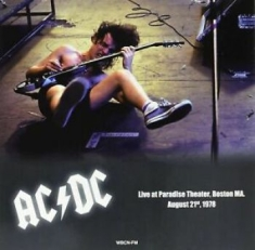 AC/DC - Paradise Theater Boston Aug.2, 1978