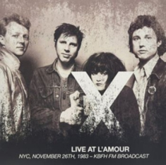 X - Live At L'amour, Nyc, Nov 1983 (2Cd