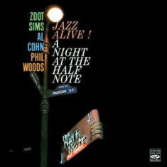 Al Cohn, Zoot Sims & Phil Woods - Jazz Alive! A Night At The Half Not