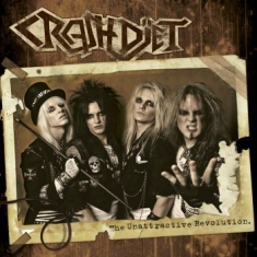 Crashdiet - The Unattractive Revolution (Vit Lp